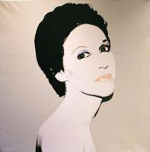 Andy WARHOL - Peinture - Portrait of a Society Lady