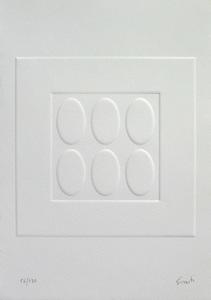 Turi SIMETI - Estampe-Multiple - Luce, monocromo, spazio
