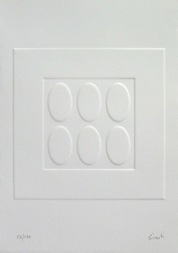 Turi SIMETI - Druckgrafik-Multiple - Luce, monocromo, spazio