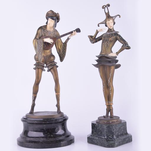 Gustav SCHMIDTCASSEL - Sculpture-Volume - Pair