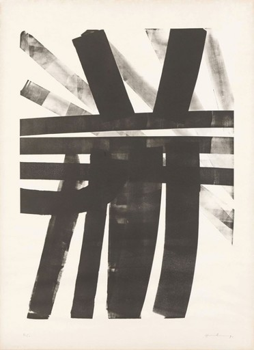 Hans HARTUNG - Estampe-Multiple - L-19