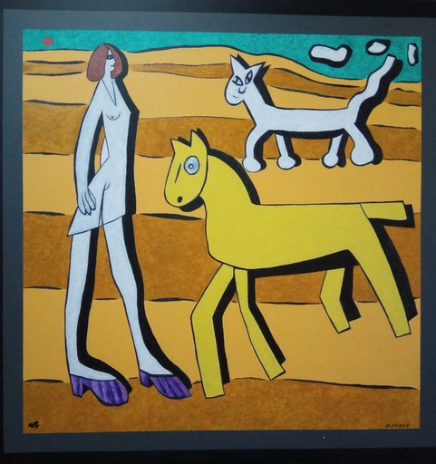 Harry BARTLETT FENNEY - Painting - retro horse