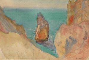 Victor KLEIN-OR - Dessin-Aquarelle