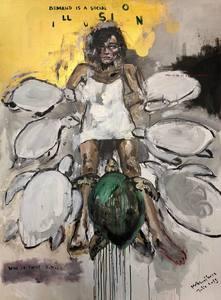 Julia PEKER-MOKHOVIKOVA - Pittura - Demand is a social illusion