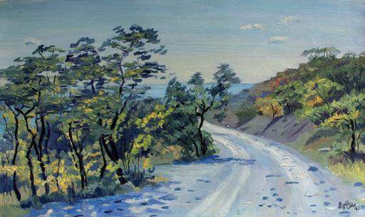 Valeriy NESTEROV - Painting - Simeiz. Crimea