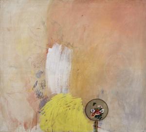 Tancredi PARMEGGIANI - Peinture - Senza titolo («Fiori dipinti da me e da altri al 101% n. 9»)