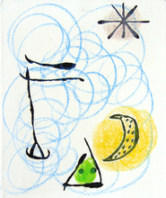 Joan MIRO (1893-1983) - Second Composition from The Ring of Dawn / La Bague d'Aurore
