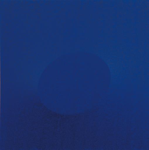 Turi SIMETI - Painting - Un ovale blu