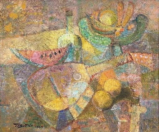 Romeo TABUENA - Pintura - Mandolina