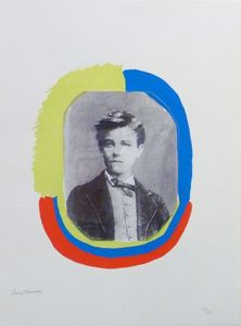 Sonia DELAUNAY-TERK - Print-Multiple - Les illuminations : Portrait de Rimbaud