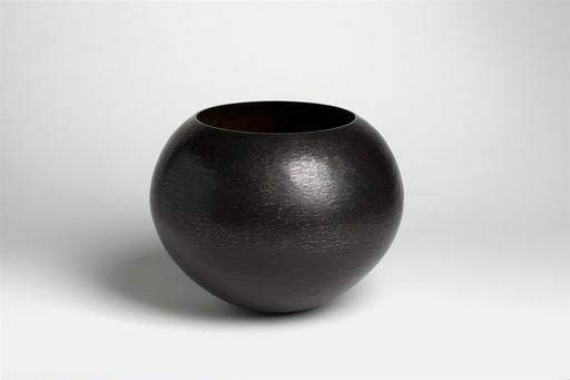 """Gladys LIEZ - Vase boule """"Ebène"""""""