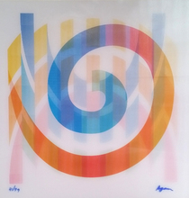 Yaacov AGAM - Estampe-Multiple - Geometric 1 Agam