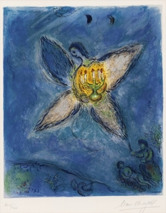 Marc CHAGALL, L'Ange au Chandelier by Charles Sorlier