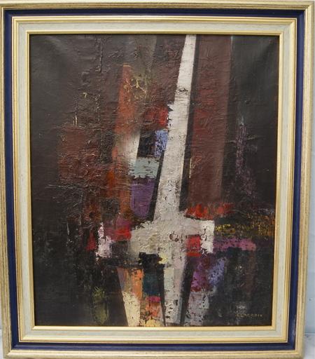 Bernard LACROIX - Pintura - Abstraction