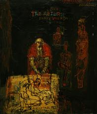 Maxim BASHEV - Painting - The Return 1666