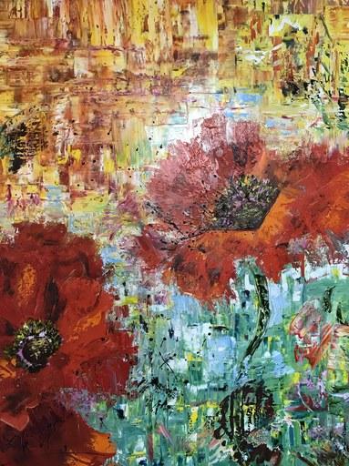 Diana MALIVANI - Pittura - Poppies