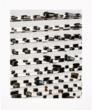 Damien HIRST (1965) - Black Brilliant Utopia
