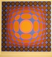 Victor VASARELY - Print-Multiple - Tri-Vega 3