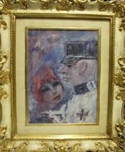 Mino MACCARI - Painting - Generale