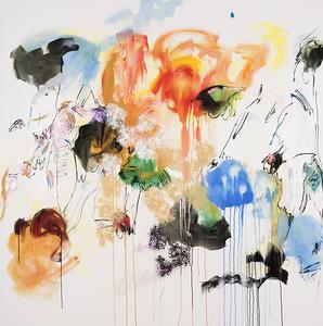 Rosario RIVERA BOND - Peinture - Unbounded 15