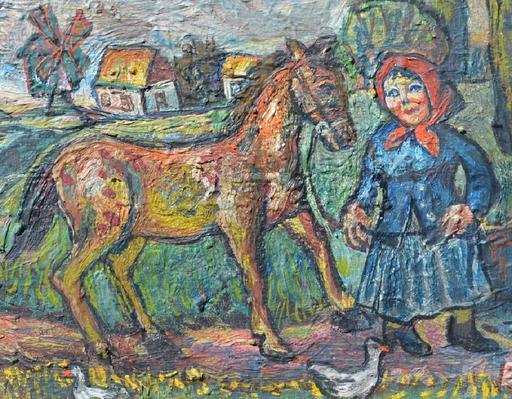David BURLIUK - Pintura