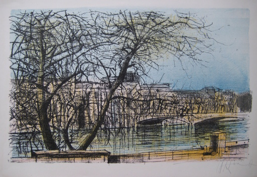 Jean CARZOU - Print-Multiple - LITHOGRAPHIE 1967/68 SIGNÉE CRAYON HANDSIGNED LITHOGRAPH