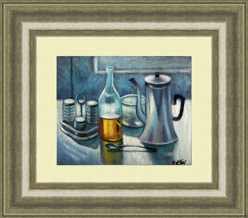 Valeriy NESTEROV - Gemälde - Still Life with Coffee Pot