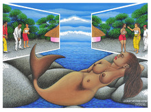 Chéri SAMBA - Painting - Le début de Chéri Samba