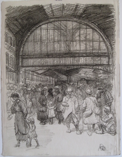 Théophile Alexandre STEINLEN - Stampa-Multiplo - LITHOGRAPHIE SIGNÉE AU CRAYON HANDSIGNED LITHOGRAPH