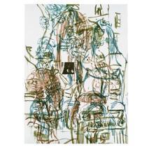 David SALLE - Estampe-Multiple - Theme from an Aztec Moralist V