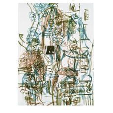 David SALLE - Grabado - Theme from an Aztec Moralist V
