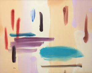 Milly RISTVEDT - Painting - Beach Colour