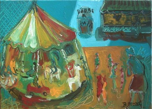 Bernard MOREL - Painting - MANEGE