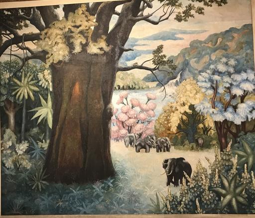 Gérard LAENEN - Peinture - La Savane