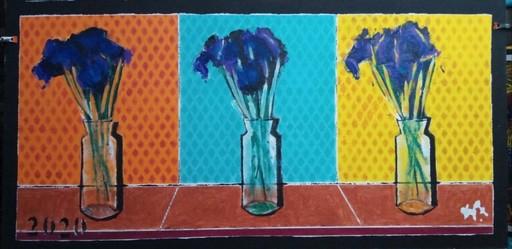 Harry BARTLETT FENNEY - Pittura - flag irises. (2020)