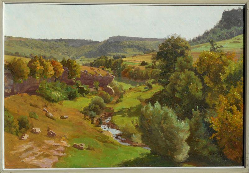 Charles Frédéric ABRAM - Pintura