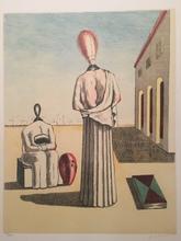乔治•德•基里科 - 版画 - le muse inquietanti 1976