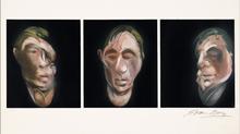 弗朗西斯•培根 - 版画 - Three Studies for Self Portrait