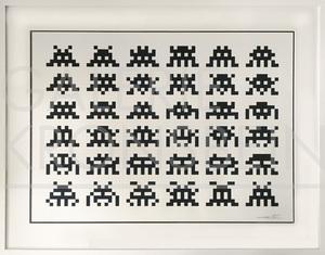 侵略者 - 版画 - RVE Print