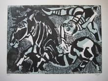 Bernard LORJOU - Print-Multiple - LITHOGRAPHIE SIGNÉE AU CRAYON NUM/80 HANDSIGNED LITHOGRAPH
