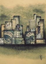 Géraldine THEUROT - Pintura - Urban III    (Cat N° 4924)