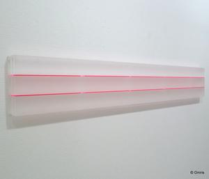 Marie-Thérèse VACOSSIN - Skulptur Volumen - Kanor II (rouge)