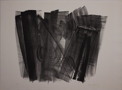 Hans HARTUNG - Print-Multiple - L 1966-3