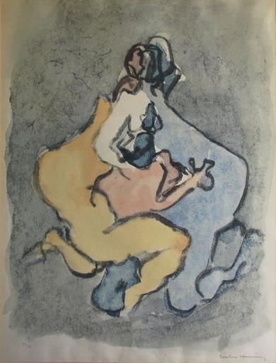 Dorothea TANNING - 版画 - Sans titre