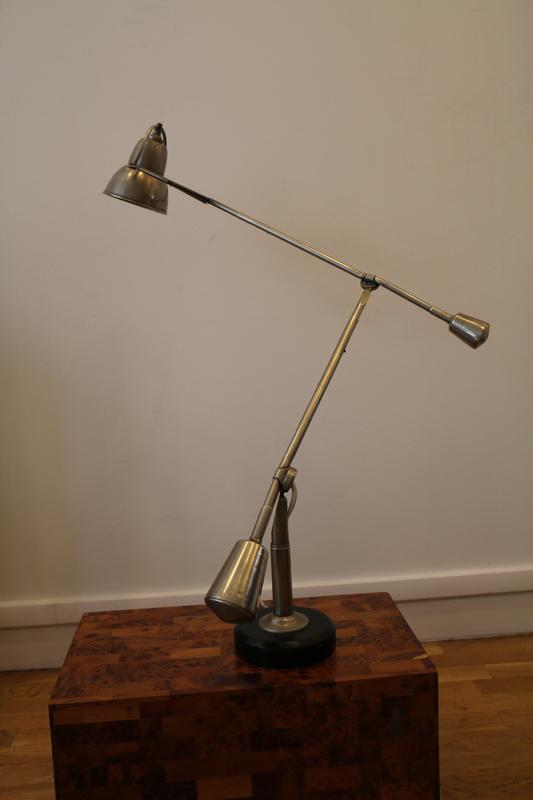 Édouard-Wilfred BUQUET - Lampe de bureau