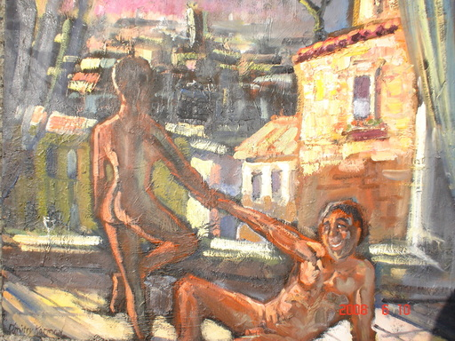 Dmitry Alexandrovich KOSMINE - Pintura - nuit chaude