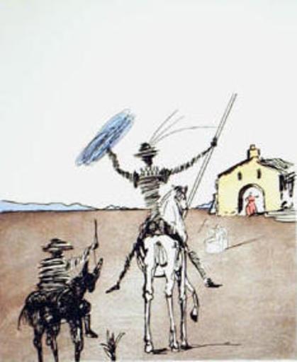 萨尔瓦多·达利 - 版画 - The Impossible Dream
