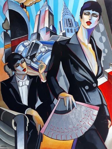 Stéphane GISCLARD - Pintura - Les New-Yorkaises