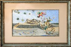 Jean LURÇAT - Painting - Apocalypse des Mal Assis #6-1