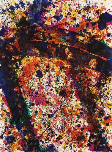 山姆•弗朗西斯 - 版画 - Coral Poles